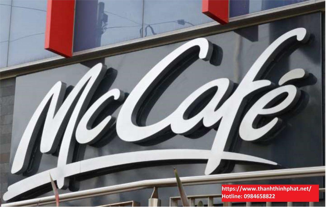 Bảng hiệu quảng cáo Mica 3d