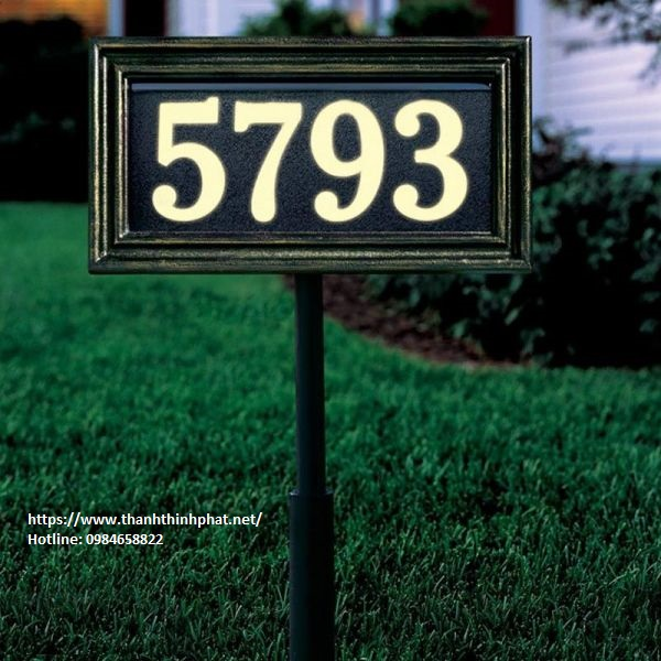 bảng số nhà đẹp giá rẽ