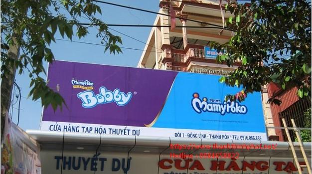 thi công bảng hiệu hiflex tại Thanh Thịnh Phát