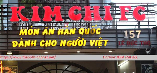 mẫu bảng hiệu alu chữ nổi nhà hàng thanh thịnh phát