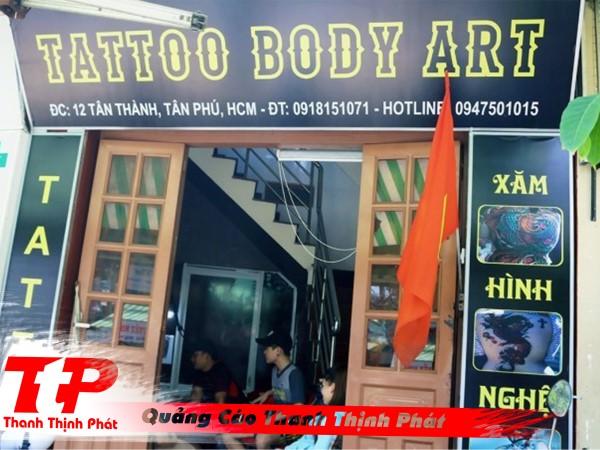 bảng hiệu tattoo