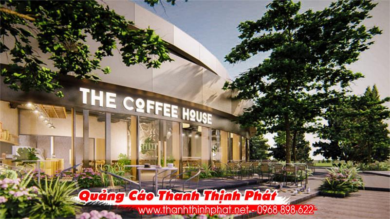 Top 10 bảng hiệu đẹp - The coffe house
